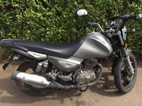 Zontes monster 125cc 2016 low mileage