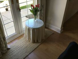 Circular Chipboard Occasional Table