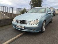 Mercedes Clk 270cdi elegance for sale