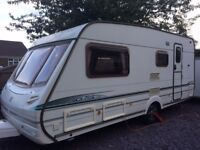 ABBEY GTS VOGUE, 2003, 4 Berth, End Washroom, L seating, Full Awning with Annex, VGC, ready to go.