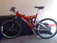 iron horse adult mans mountain bike