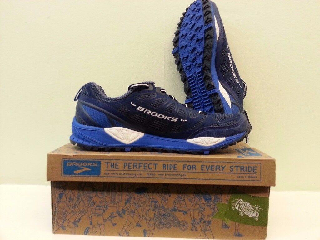 e3a463a1fa81 Brooks Cascadia 9 Mens Trail Running Shoe UK 8 EU 42.5 New