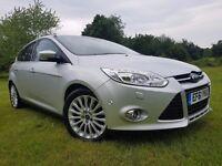 Ford Focus 2012 1.6 TDCi Titanium X 5dr - FullServHis,Top Spec, 20£/Year TAX, Very Good Condition!!!