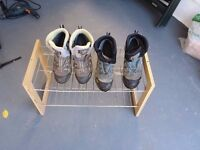 2 PAIRS OF LADIES ASOLO WALKING BOOTS
