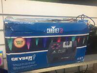Chauvet Geyser T6 vertical smoke machine with LED lighting
