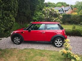 Red mini 2009 1.4 first