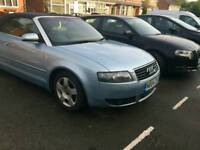 Audi a4 cab cabriolet convertable fully loaded high spec