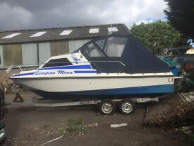 Tremlett 21 sportsman power motor boat