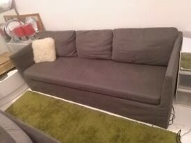 Ikea Brathult 3 seat sofa comfortable excellent central London bargain
