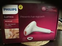 Philips lumea advanced IPL hair removal unwanted gift.