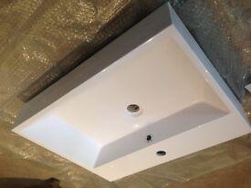 Bathroom Basin. Iflo. City Plumbing. 480x600. Furniture mounted.