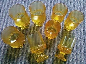 Set of 8 Vintage Franciscan by Tippin Glassware 1970's Cambridge Kitchener Area image 3