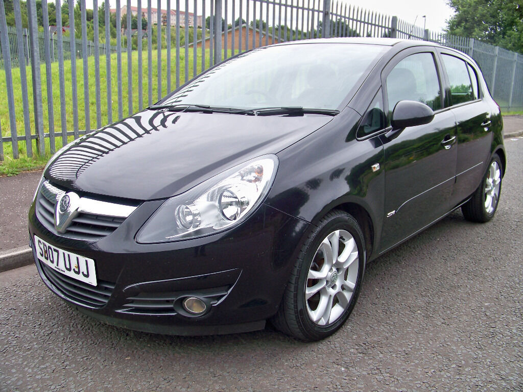 corsa sxi 1 4 2007 07 vauxhall corsa 1 4 sxi low mileage. Black Bedroom Furniture Sets. Home Design Ideas