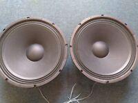 Eminence Beta 15A Speaker Cones