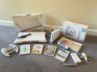 Nintendo Wii Console, Wii Fit Board plus extra bundle (original packaging)