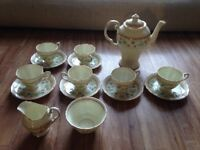 Vintage Tuscan China Tea Set