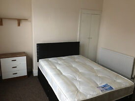 2 Double rooms,good for couples,new bed,close to Uni and hospital.Refurbished house.Start from £92/w