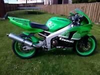 Kawasaki zxr 600 rear swap for motorcross bike