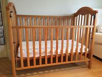 dropside cot bed