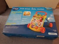 VTech First Steps Baby Walker, LIKE NEW in original box (paid £35)