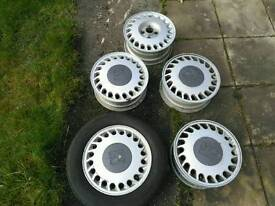 Astra GTE alloy wheels