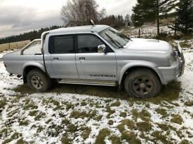 L200 warrior spares of repair