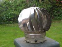 Revolving chimney ventilator