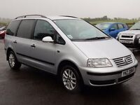2008 volkswagen sharon 2.0 tdi SE motd may 2017 tidy example all cards welcome