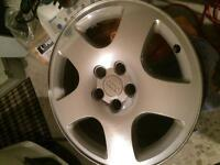 """Roues/mags Audi A8 OEM 17"""" 5x112 rare!"""