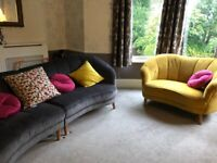 Nearly New Sofa and Love Seat