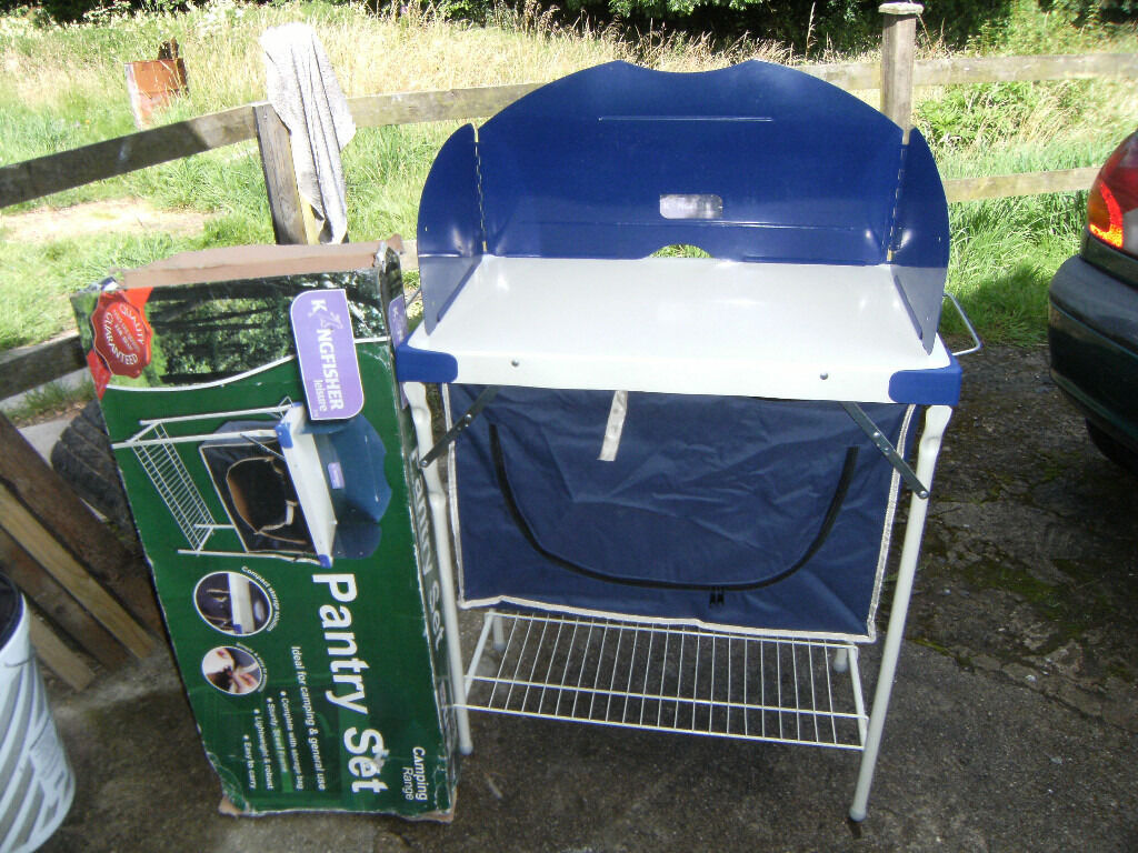 CAMPING RANGE PANTRY SETin Withywood, BristolGumtree - CAMPING RANGE PANTRY SET IN GOOD USED CONDITION IDEAL FOR CAMPING OR FOR GENERAL USE LIGHTWEIGHT