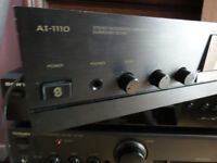 Sherwood A1-1110 Amplifier Full of power will drive any speakers Quick Sale
