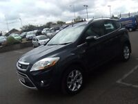 2010 59 FORD KUGA 2.0 ZETEC TDCI AWD 5D 134 BHP **** GUARANTEED FINANCE **** PART EX WELCOME ****