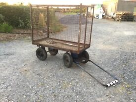 Truck barrow with high sides