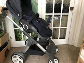 Stoke Crusi & Mama's & Papa's Case - Full Push Chair - In A1 Condition Like New