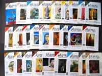 A collection of Modern Painters magazine