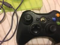Xbox 360 controller , play and charge kit and black ops 2