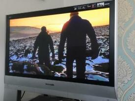 """Panasonic 37"""" Freeview HD TV with stand"""