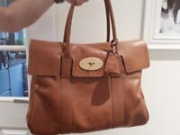 Mulberry Heritage Bayswater Tote Bag As New With Dust Cover