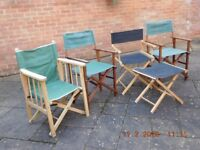 Seaside Deck Chairs & Collapsable Chairs