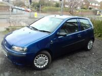 Fiat Punto Active Sport 1.2. Reliable and cheap to run.