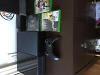 Xbox one comes with three games and controller