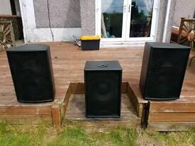 Martin Audio F12s & s12