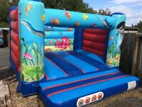 Air Inflatables Commercial Undersea bouncy castle 12x12 excellent condition