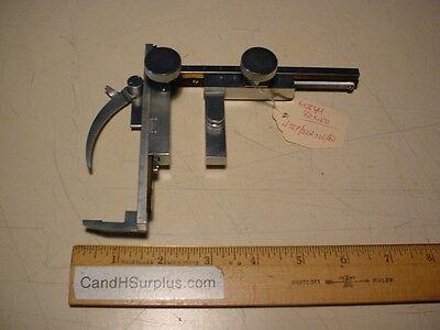 Microscope Slide X-y Stage