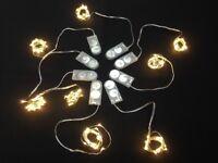 8 Sets of 20 Warm White LED Micro Fairy Lights. Wedding Decoration