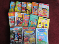 14 young kids DVDs including Thomas & Friends, Chuggington, Fireman Sam, Peppa Pig, Postman Pat