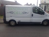 Vauxhall vivaro catering vans