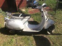 Ajs Modena 125cc scooter. SPARES OR REPAIR