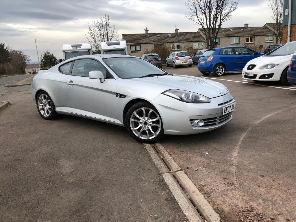 STUNNING HYUNDAI COUPE- SIII- 2.0 AUTOMATIC GEARBOX - ONLY DONE 67K- FSH- COMES WITH FULL YEAR MOT